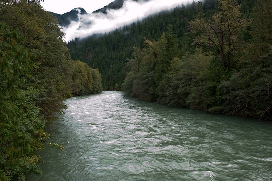 North Cascades National Park, WA: Skagit River Goodell camping