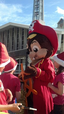 Charlie on the New Plymouth Christmas Parade