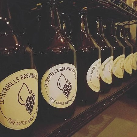 Zephyrhills, FL: Purchase a growler or have your own filled.