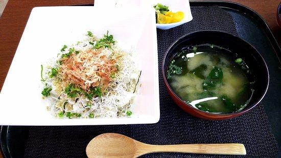 Nichinan, Japan: 釜揚げしらす丼 980円