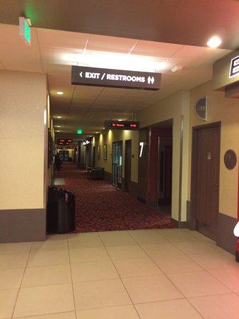 Cinemark Altoona and XD: Hallway to theaters