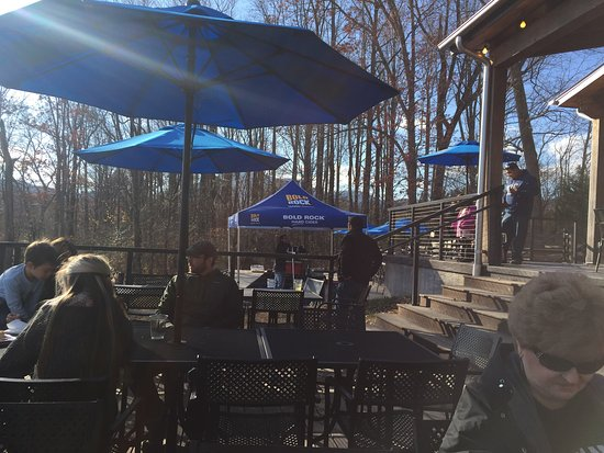 Nellysford, VA: Outdoor Seating Area
