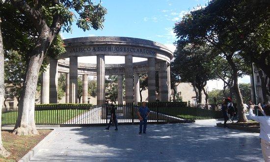 Rotonda de Los Jaliscienses Ilustres: Rotonda