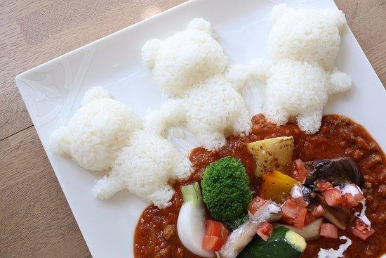 Anjo, Japan: グリル野菜のトマト煮込みカレー