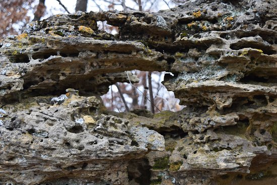 Trempealeau, WI: Great rock formations & bluffs