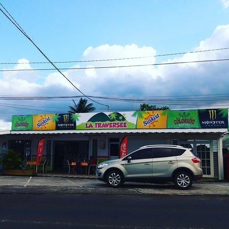 Petit-Bourg, Guadeloupe: La traversée