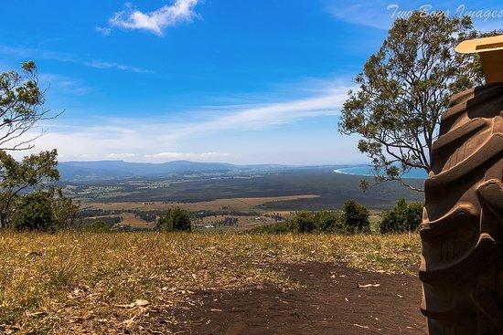 Shoalhaven, Australia: At the top of Mt Coolangatta