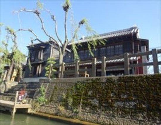 Katori, Japan: 両側には歴史的な建物が。