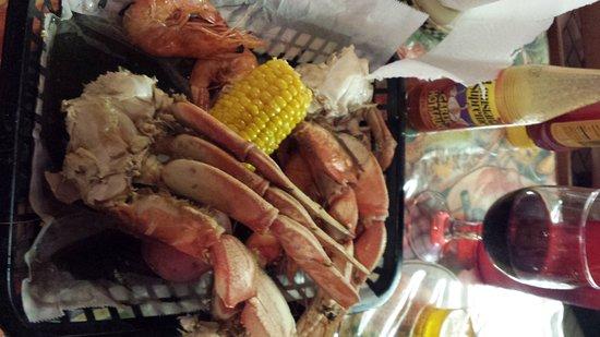 Kenner, LA: seafood boil...