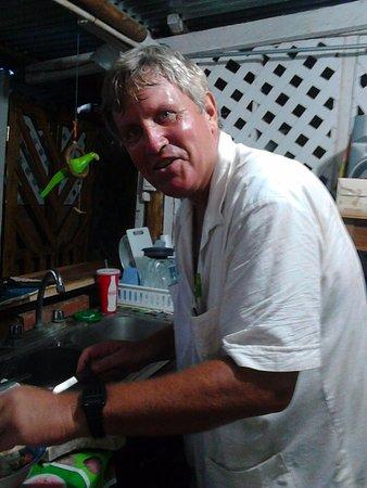 Rivas, Nicaragua: Visitng Chef from Boston - Steve