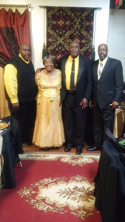 Orangeburg, SC: 50th Anniversary of Herman and Elizabeth W.