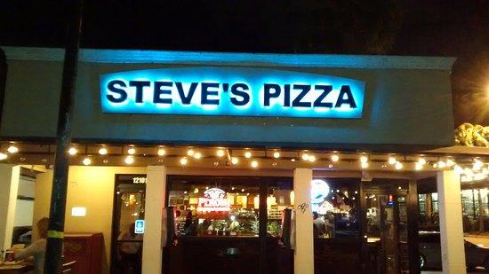 Steve's Pizza in North Miami Florida.