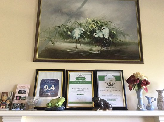 Nannup, Australia: Mossbrook awards