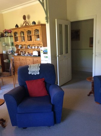 Nannup, Avustralya: View of the dining area from the common room