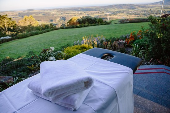 Berry, Australia: Your own deck - the perfect spot for a massage