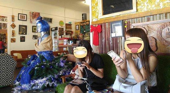 Yungaburra, Australia: 友人の様子