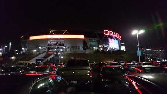 cheap for discount 2ae91 fb840 Panorâmica da arena (GSW x PSuns) - Picture of Oracle Arena ...