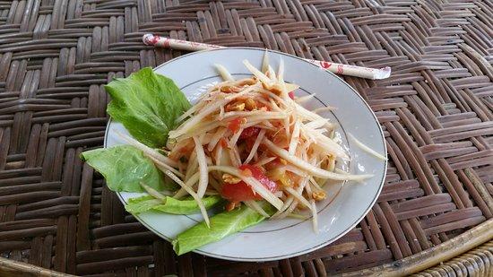 Pakse, Laos: Pappaya Salad