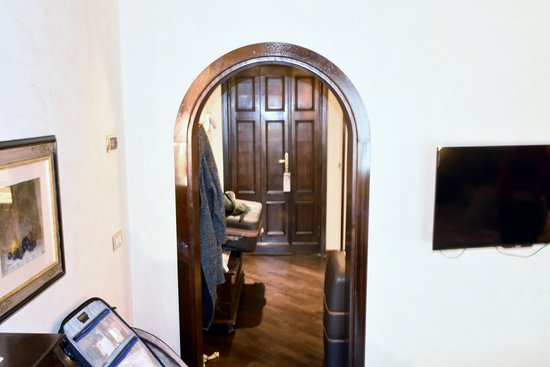Bedroom Looking At Front Door Picture Of Grand Hotel Baglioni