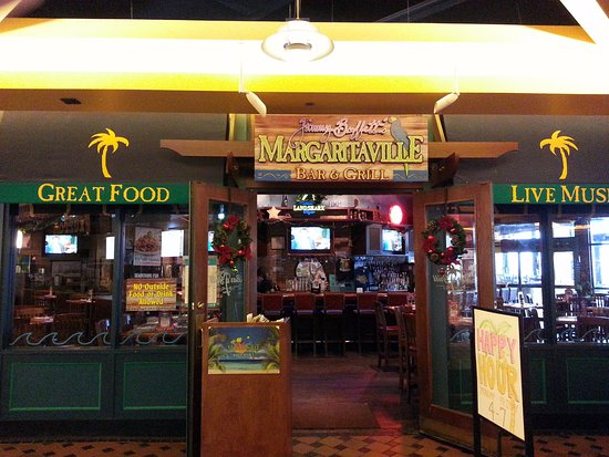 The Closer Entrance For Margaritaville To Front Of Navy Pier
