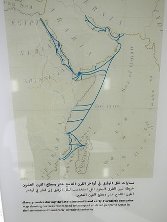 msheireb museums slave map of indian ocean route