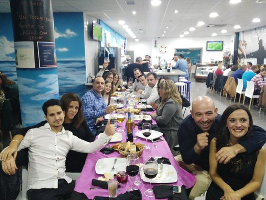 El Ejido, España: Cenas de empresa