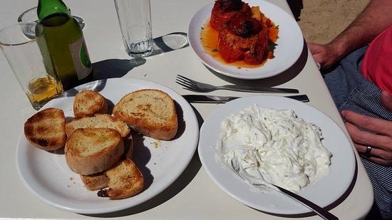 Paraga, Grecia: Food !! YUMMMM !