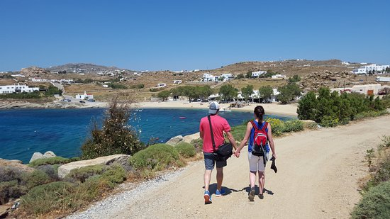 Paraga, Grecia: More walking (so beautiful !!)