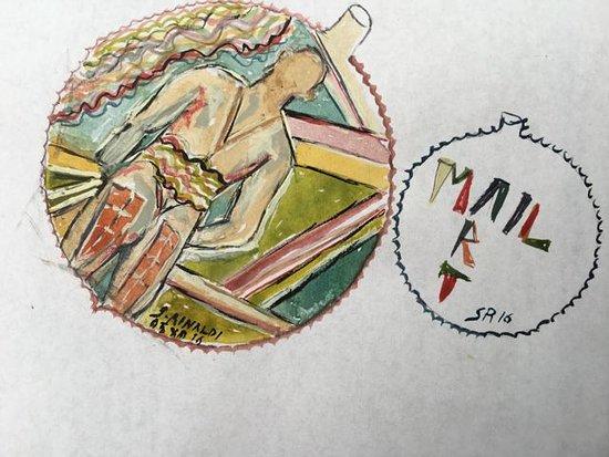 Cafe Kafka: Mio francobollo dedicato al caffè