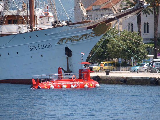 Korcula Town, Croatia: With Sea Cloud