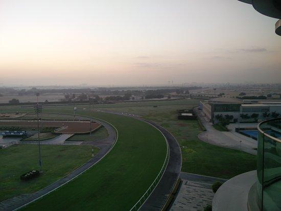 The Meydan Hotel: Sunrise...