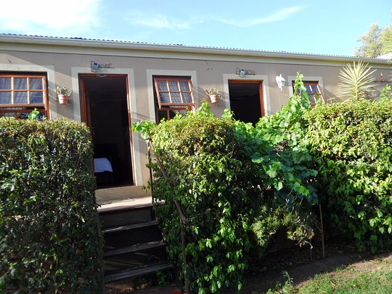 Calitzdorp, Sydafrika: These were our two rooms