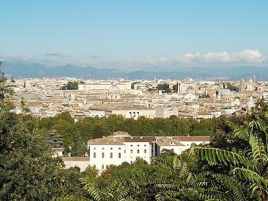 Panorama 1 - Picture of Terrazza del Gianicolo, Rome - TripAdvisor