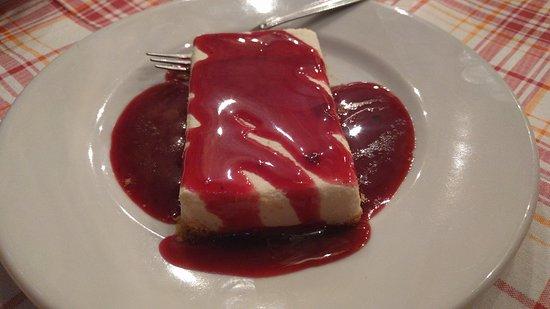 Montecatini Val di Cecina, Italy: Cheesecake