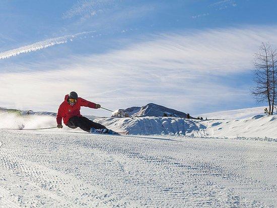 Turracher Hohe, ออสเตรีย: Ziehen Sie Ihre Schwünge in den Schnee