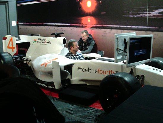 Formula 1 Simulator experience - Picture of Grand Prix Race