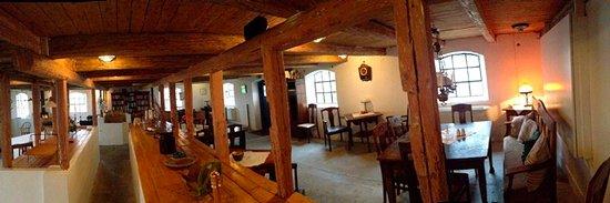 Simrishamn, Suécia: I det renoverade stallet serveras frukost och middag.