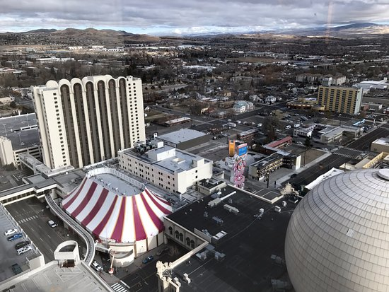 Silver Legacy Resort and Casino: view from room 3303