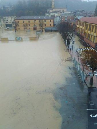 Ceva, Itália: il ristorante durante l'alluvione del 24/11/2016