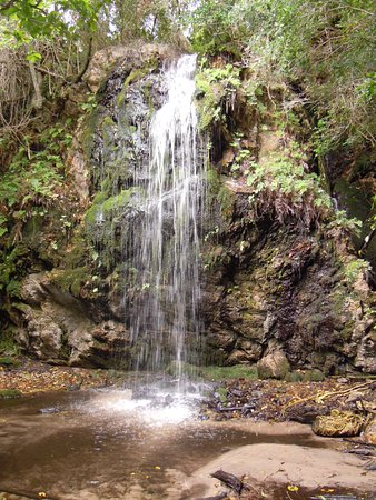 Overberg District, Afrika Selatan: Enjoyed our tea break watching and listening to this beautiful waterfall