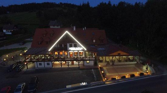 Frymburk, Tsjekkia: Noční