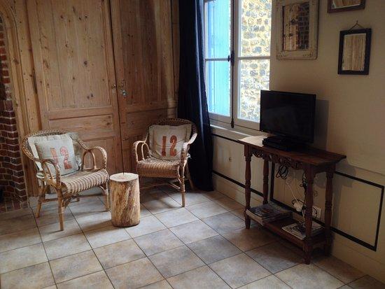 Le Clos Vorin: Appartement clos Berthot. 4 personnes. RDC