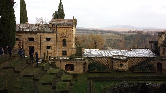 Montegabbione, إيطاليا: La Scarzuola