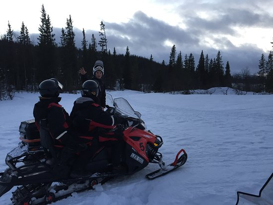 Are, Sweden: Snowmobiling with Johannes!