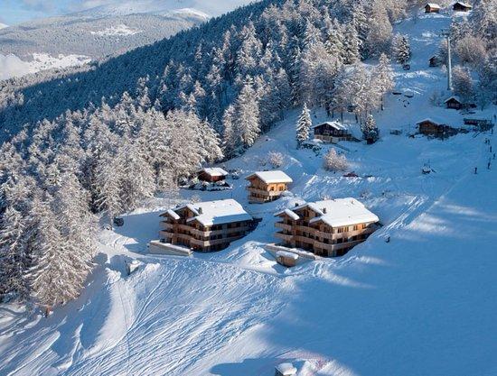 Veysonnaz, Schweiz: vue