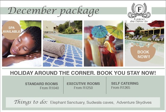 Sabie, Sydafrika: December package 2016