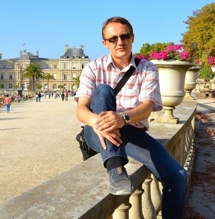 Гид во Франции Александр Лазорев