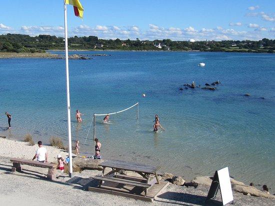 Pleumeur Bodou, France : plage