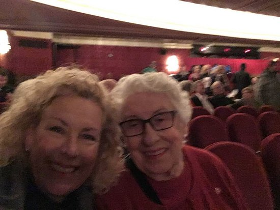 Royal Alexandra Theatre: We couldn't be any happier - and the show hadn't even begun yet!