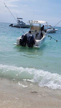 Flic En Flac: Le bateau avec Kevin